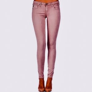 AG Mauve THE ABSOLUTE LEGGING Extreme Skinny 25 R